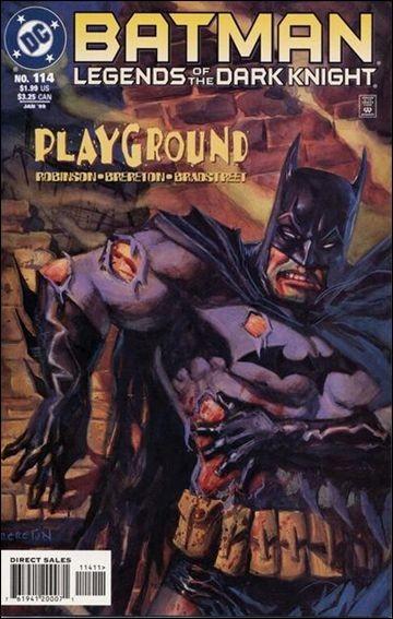 Couverture de Batman: Legends of the Dark Knight (1989) -114- Playground