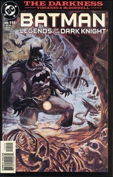 Couverture de Batman: Legends of the Dark Knight (1989) -115- The darkness