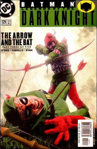 Couverture de Batman: Legends of the Dark Knight (1989) -129- The arrow and the bat part 3 : the failure