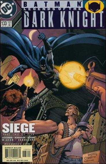 Couverture de Batman: Legends of the Dark Knight (1989) -133- Siege part 2 : assault