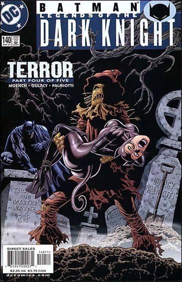Couverture de Batman: Legends of the Dark Knight (1989) -140- Terror part 4 : horror house