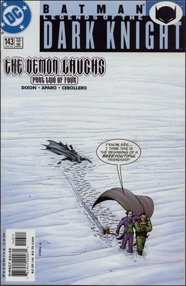 Couverture de Batman: Legends of the Dark Knight (1989) -143- The demon laughs part 2 : running wild