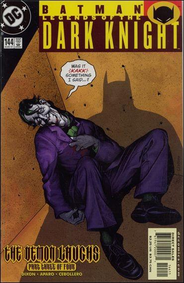 Couverture de Batman: Legends of the Dark Knight (1989) -144- The demon laughs part 3 : the march hare