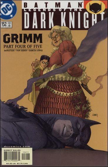 Couverture de Batman: Legends of the Dark Knight (1989) -152- Grimm part 4 : fairy tales
