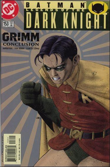 Couverture de Batman: Legends of the Dark Knight (1989) -153- Grimm part 5 : i prove my worth