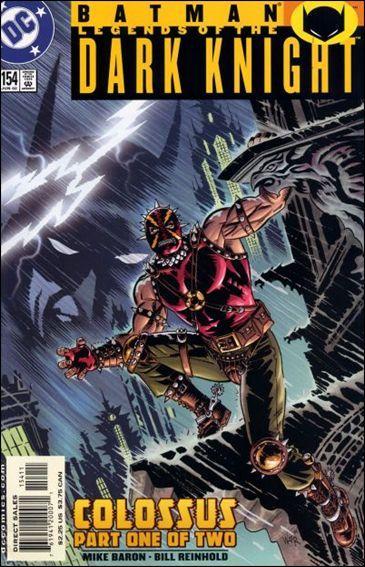Couverture de Batman: Legends of the Dark Knight (1989) -154- Colossus part 1