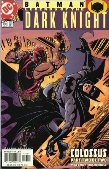 Couverture de Batman: Legends of the Dark Knight (1989) -155- Colossus part 2