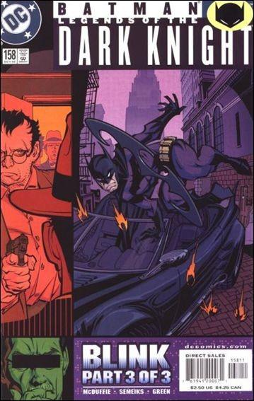 Couverture de Batman: Legends of the Dark Knight (1989) -158- Blink part 3