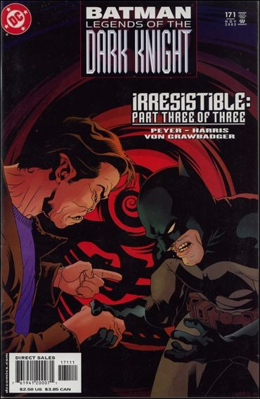 Couverture de Batman: Legends of the Dark Knight (1989) -171- Irresistible part 3