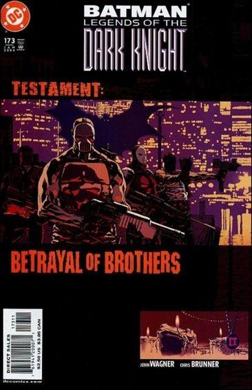 Couverture de Batman: Legends of the Dark Knight (1989) -173- Testament : betrayal of brothers