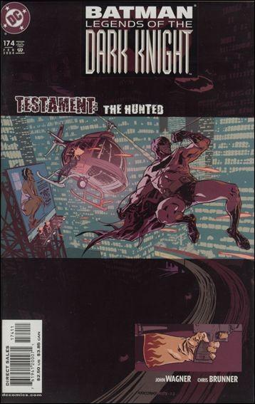 Couverture de Batman: Legends of the Dark Knight (1989) -174- Testament : the hunted