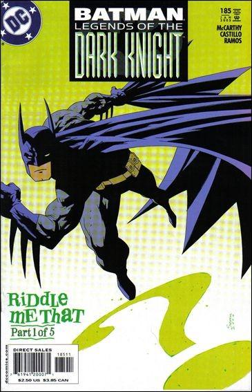 Couverture de Batman: Legends of the Dark Knight (1989) -185- Riddle me that part 1