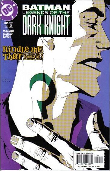 Couverture de Batman: Legends of the Dark Knight (1989) -186- Riddle me that part 2