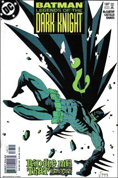 Couverture de Batman: Legends of the Dark Knight (1989) -187- Riddle me that part 3