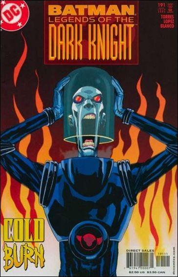 Couverture de Batman: Legends of the Dark Knight (1989) -191- Cold snap part 2