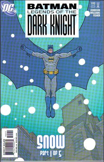 Couverture de Batman: Legends of the Dark Knight (1989) -192- Snow part 1 : drift