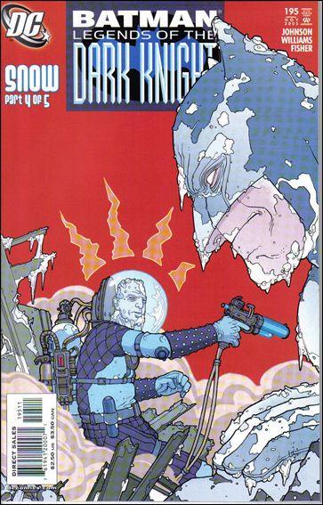 Couverture de Batman: Legends of the Dark Knight (1989) -195- Snow part 4 : fall