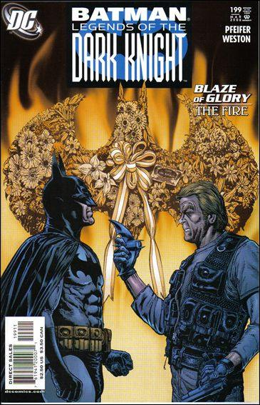 Couverture de Batman: Legends of the Dark Knight (1989) -199- Blaze of glory : the fire