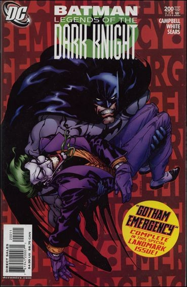 Couverture de Batman: Legends of the Dark Knight (1989) -200- Gotham emergency