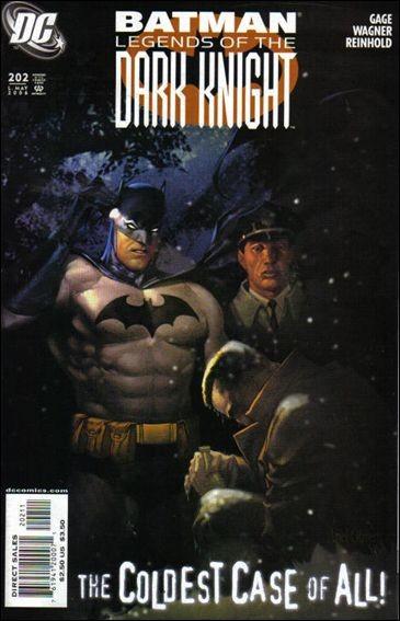 Couverture de Batman: Legends of the Dark Knight (1989) -202- Cold case part 2 : confidentiality
