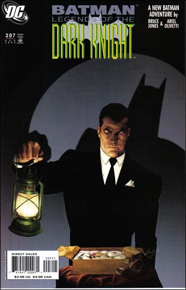 Couverture de Batman: Legends of the Dark Knight (1989) -207- Darker than death part 1
