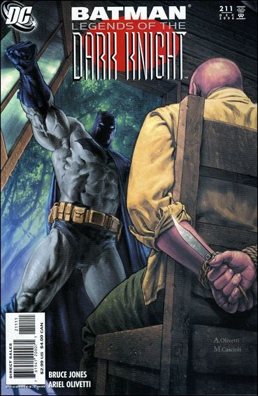 Couverture de Batman: Legends of the Dark Knight (1989) -211- Darker than death part 5