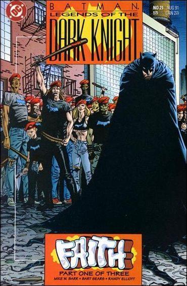 Couverture de Batman: Legends of the Dark Knight (1989) -21- Faith part 1