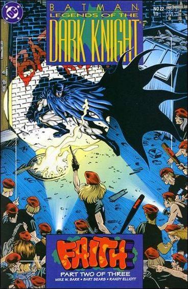 Couverture de Batman: Legends of the Dark Knight (1989) -22- Faith part 2