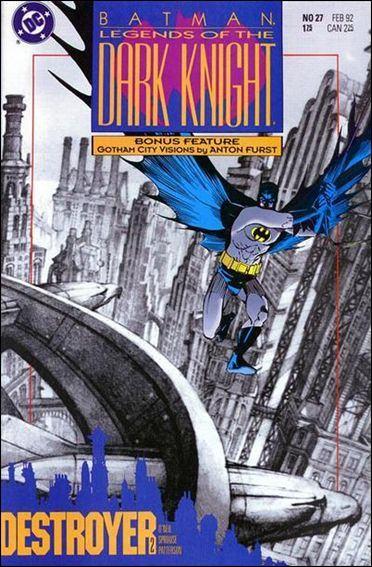Couverture de Batman: Legends of the Dark Knight (1989) -27- Destroyer part 2 : solomon