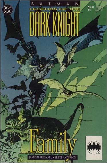 Couverture de Batman: Legends of the Dark Knight (1989) -31- Family
