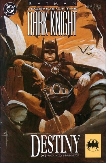 Couverture de Batman: Legends of the Dark Knight (1989) -35- Destiny part 1