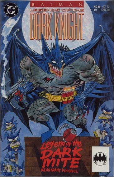 Couverture de Batman: Legends of the Dark Knight (1989) -38- Legend of the dark mite