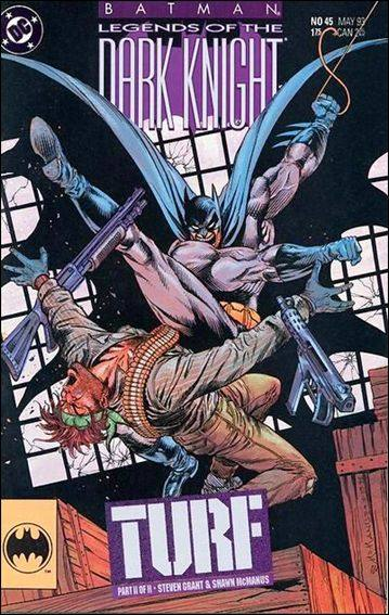 Couverture de Batman: Legends of the Dark Knight (1989) -45- Turf part 2