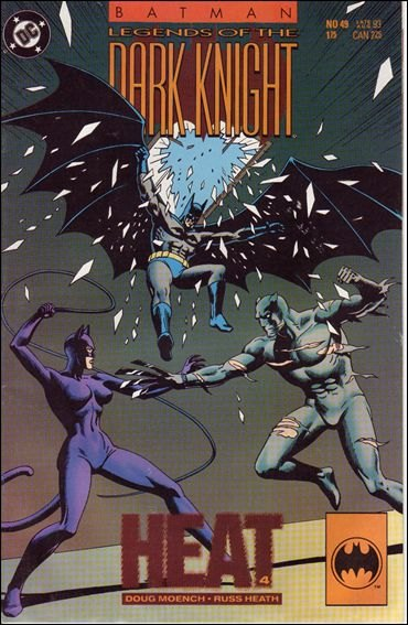 Couverture de Batman: Legends of the Dark Knight (1989) -49- Heat part 4