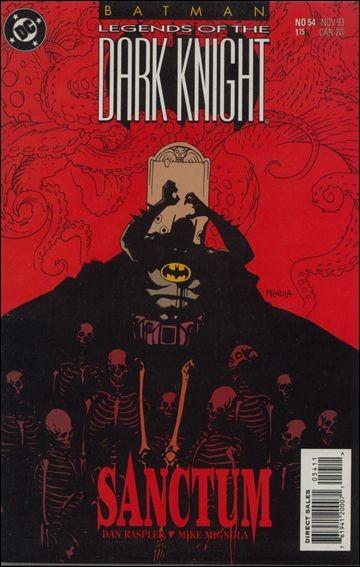 Couverture de Batman: Legends of the Dark Knight (1989) -54- Sanctum