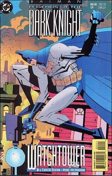 Couverture de Batman: Legends of the Dark Knight (1989) -55- Watchtower part 1