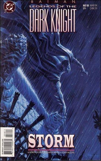 Couverture de Batman: Legends of the Dark Knight (1989) -58- Storm