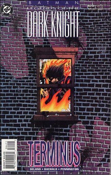 Couverture de Batman: Legends of the Dark Knight (1989) -64- Terminus
