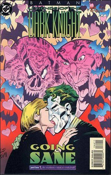 Couverture de Batman: Legends of the Dark Knight (1989) -66- Going sane part 2 : swimming lessons