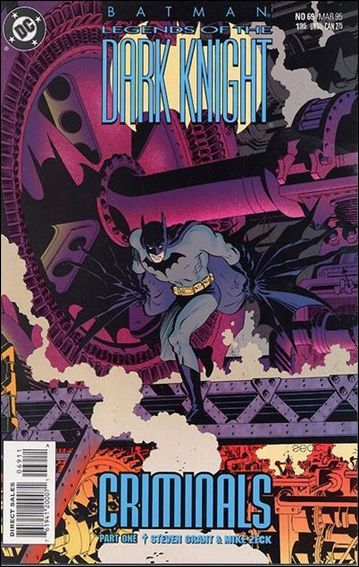 Couverture de Batman: Legends of the Dark Knight (1989) -69- Criminals part 1