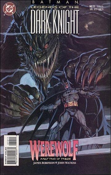 Couverture de Batman: Legends of the Dark Knight (1989) -72- Werewolf part 2