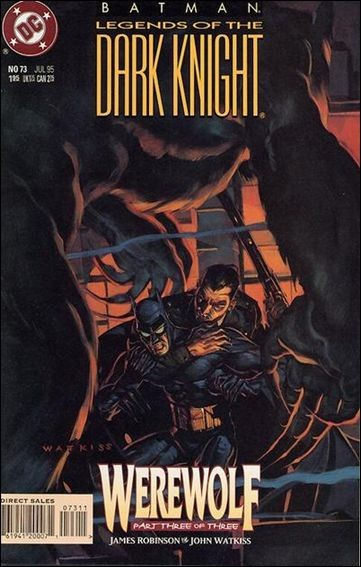 Couverture de Batman: Legends of the Dark Knight (1989) -73- Werewolf part 3