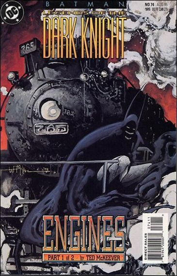 Couverture de Batman: Legends of the Dark Knight (1989) -74- Engines part 1
