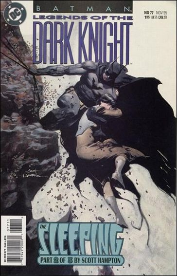Couverture de Batman: Legends of the Dark Knight (1989) -77- The sleeping part 2