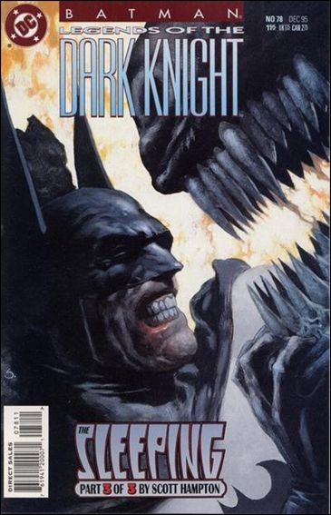 Couverture de Batman: Legends of the Dark Knight (1989) -78- The sleeping part 3