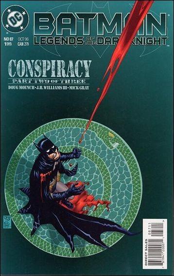 Couverture de Batman: Legends of the Dark Knight (1989) -87- Conspiracy part 2
