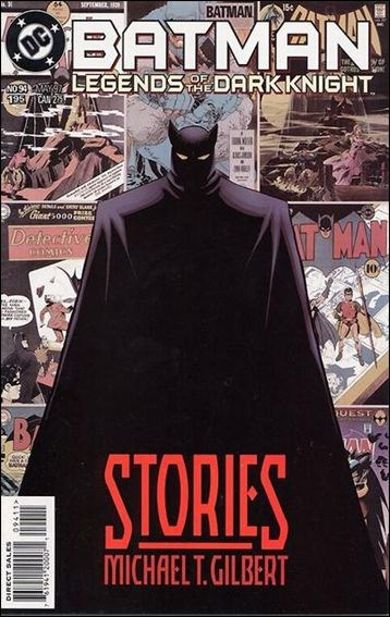 Couverture de Batman: Legends of the Dark Knight (1989) -94- Stories