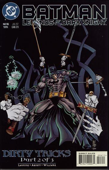 Couverture de Batman: Legends of the Dark Knight (1989) -96- Dirty tricks part 2
