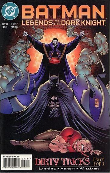 Couverture de Batman: Legends of the Dark Knight (1989) -97- Dirty tricks part 3