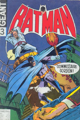 Couverture de Batman Géant (Sagédition - 1re série) -3- Batman pour une nuit